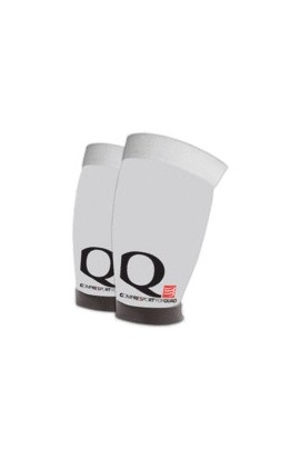 Compressport FORQUAD White, Reduces Muscle Fatigue, Recovery, Intense Effort