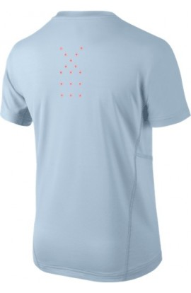 T-shirt Nike Rafa Athlete Top US Open Bleu
