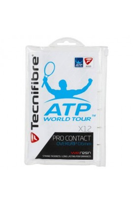 Tecnifibre Pro Contact Overgrip, Blister of 12 Overgrips Tecnifibre Pro Contact