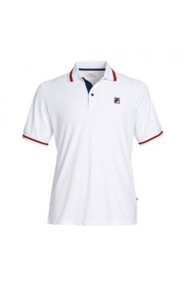 Polo Fila Button Piro Blanc