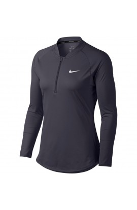 Nike Women Nikecourt Pure Top LS HZ