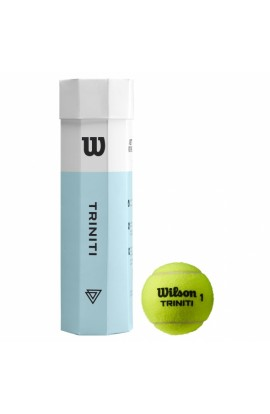 Balles Wilson Triniti x4