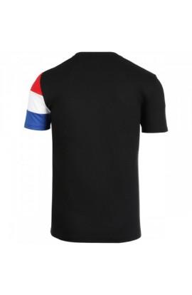 Tee-shirt de tennis Le Coq Sportif N2 Noir