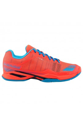 Chaussures Babolat Jet Team Clay Men Fluo Red
