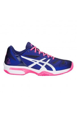 Chaussures Asics Gel Solution Speed 3 Black Hot Pink