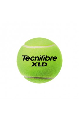 Tecnifibre XLD Tennis Balls, Bag of 72 Balls Tecnifibre XLD, Tennis Ball for Tennis Club